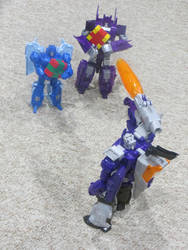 Give Galvatron his gifts! by preceptorexe