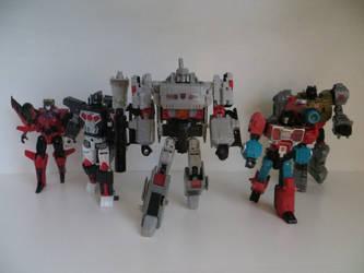 Megatron's Team by preceptorexe