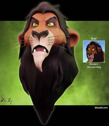 Scar, Disney's The Lion King by ade2004wally