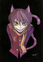 Cheshire Cat by My-darling-James