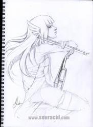 Taka Violin by SourAcid