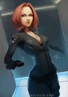 Black Widow by SourAcid