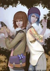 Chloe and Max by SourAcid