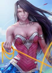 Wonder Woman by SourAcid