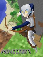 Minecraft Hero by generalofdarkness