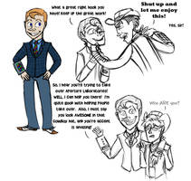 FNV Spoilers - Human Yes Man by generalofdarkness