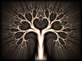 Heartful Tree by FractKali
