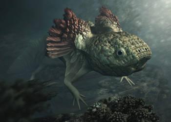 Ambystoma Fractalum by FractKali