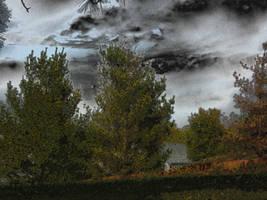 Autumn Sky 3 by phoenixreal