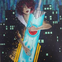 Red (Transistor Fanart) by Misax3Misa