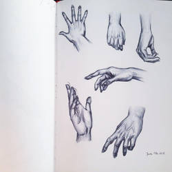 Hand study by Misax3Misa