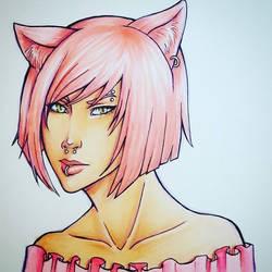 Catgirl by Misax3Misa