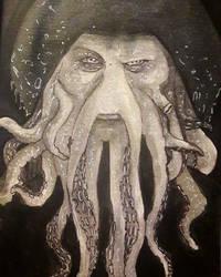 Davy Jones Fanart by Misax3Misa