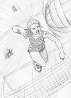 Volleyball Time by deeage