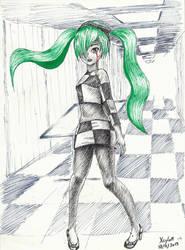 Hatsune Miku - The End by Xsylum