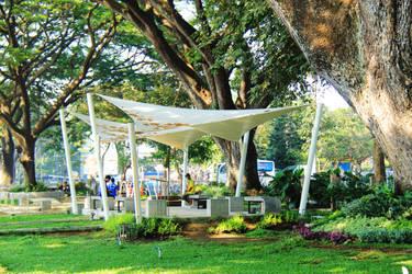 Trunojoyo Park's Shelter by fildzahraihan
