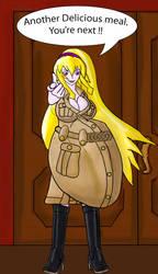 Liz Devoured Drey (Belly) by Mrxx