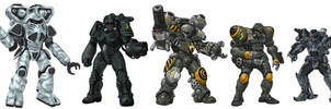 The Battle Armors of Our BattleTech Story by StridersStrikersTeam