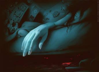 Beginning of a Nightmare by SofiaGolovanova
