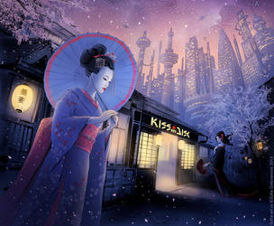 Geisha by SofiaGolovanova