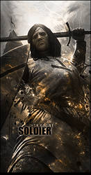 Medieval Soldier by SkyLinee