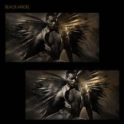 Black Angel by SkyLinee