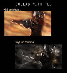 Collab con Ld by SkyLinee
