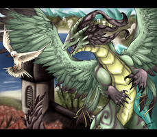 Centra: Avian Contest by draconess02