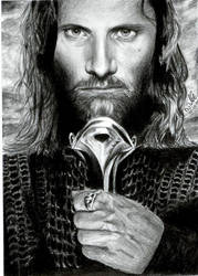 Aragorn for my brother by ArwenEvenstar16