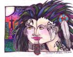 Crow Girls by lunacatd