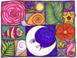 Doodle Quilt by lunacatd