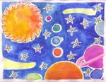 Solar System by lunacatd