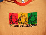 Buddhalicious orange 4 boyz by lunacatd