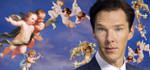 Ben in In the Sky with Cherubs - Happy Birthday B! by lunacatd