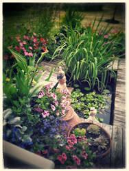 My secret pond II by lunacatd
