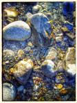 Water Beats Rock III - Kananaskis by lunacatd