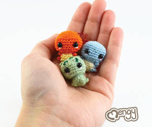 Handful of Cuteness! by mengymenagerie