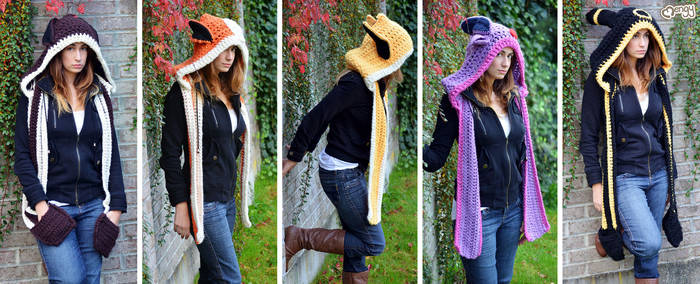 Your Scarf has evolved! by mengymenagerie