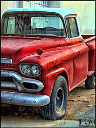 old GMC by fahad8702