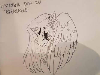 Inktober Day 20 - Breakable by GraceysWorld