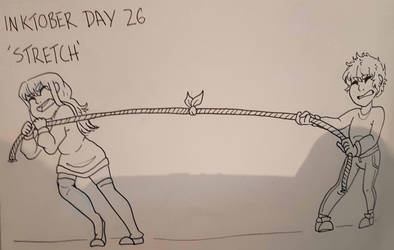 Inktober Day 26 - Stretch by GraceysWorld