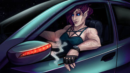 electric eye, part four: the chauffeur by cosmogyral-delirium