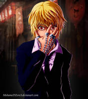 Kurapika-HxH coloring by MohameDZero3