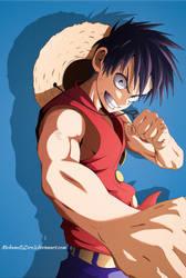 Luffy Yusuke Murata style by MohameDZero3