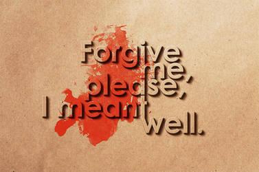 Forgive by Prospero-Arto