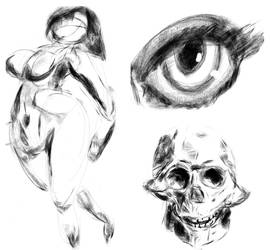 Smartphone doodles by Cestarian