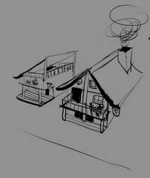 Perspective Doodles by Cestarian