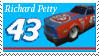Richard Petty Stamp by nascarstones