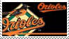 Baltimore Orioles Stamp by nascarstones