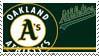 Oakland Athletics Stamp by nascarstones